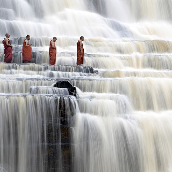 Vietnam's Pongua Falls - Monks Passing