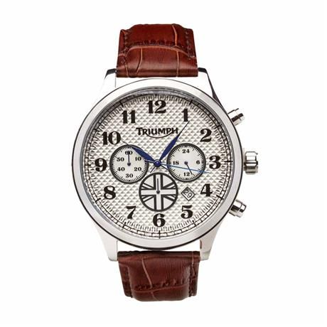 heritage chronograph watchtriumph motorcycles | traditional