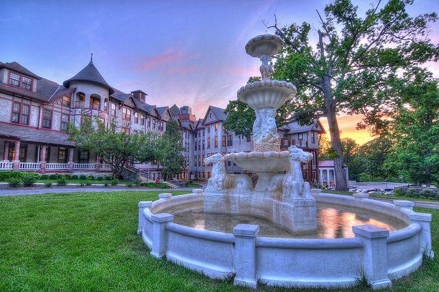 National Park Seminary HDR by Brandon Kopp, via Flickr