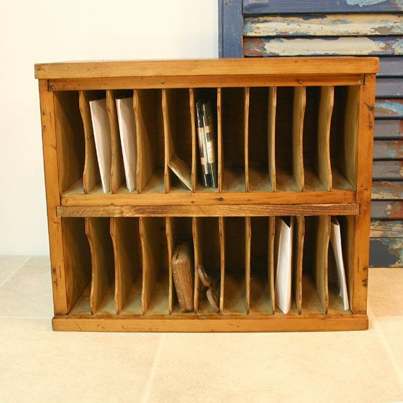 Hotel Mail Cubby Cabinet / Vintage Mail by ConceptFurnishings ...