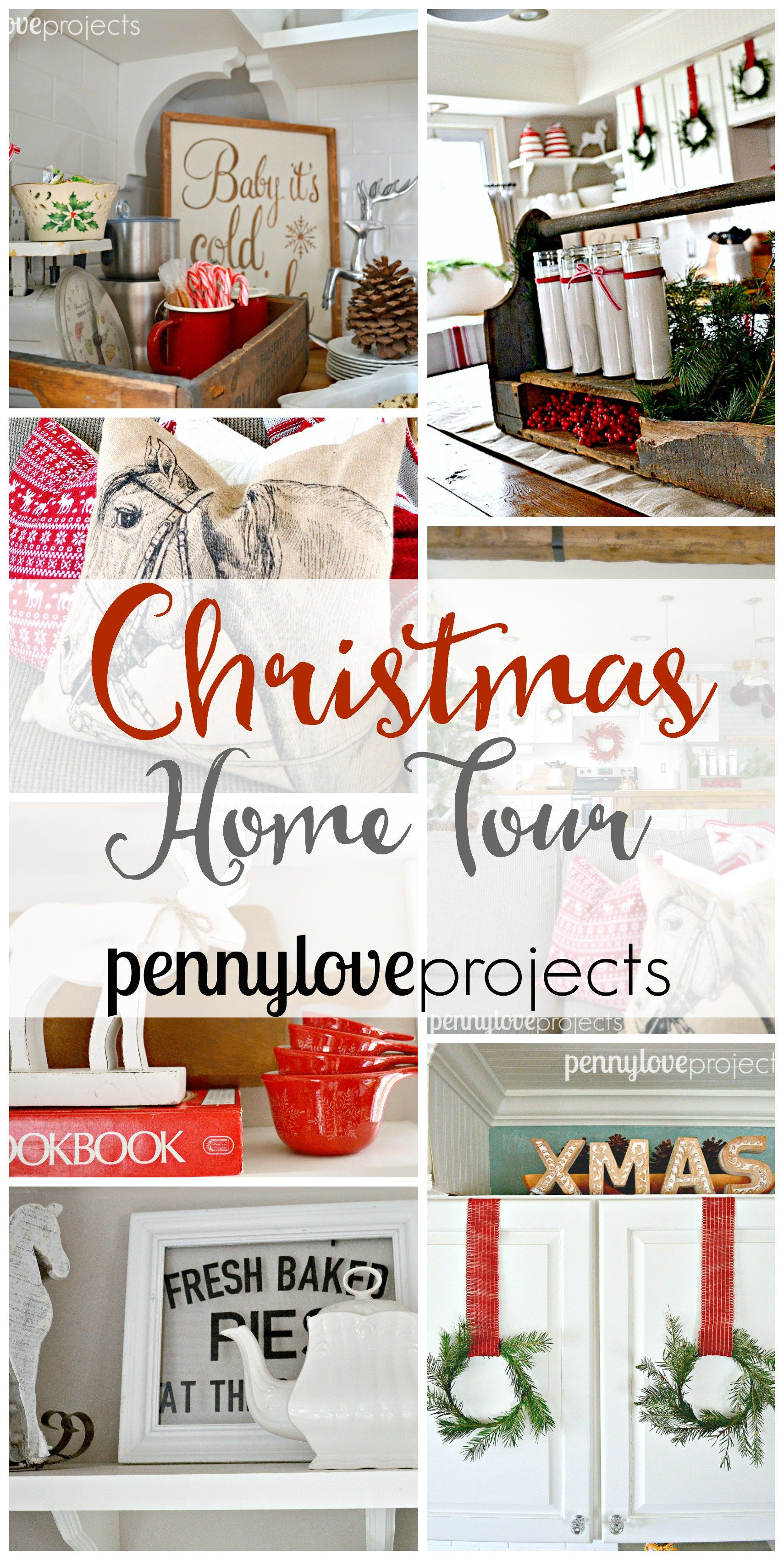 A Farmhouse Christmas Home Tour with pennyloveprojects e she
