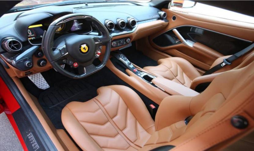 2018 Ferrari F12 M Interior