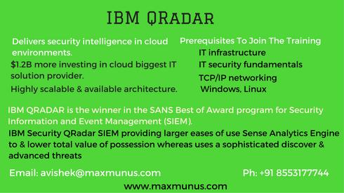 Ibm Qradar Is An Enterprise Siem Product Ibm Security Qradar Siem Is A Tech Platform Developed By Ibm To Provide A 360 Deg Online Training Ibm Awards Program