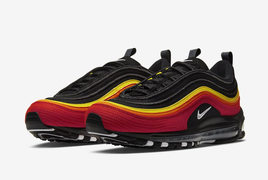 nike air max 97 black and red release date
