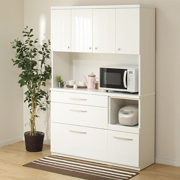 キッチンボード ニコル120 インテリア 家具 収納棚 ニトリ 家具