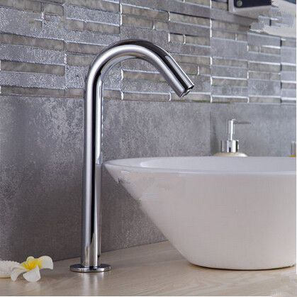 Brass Bathroom Sink Faucet with Automatic Sensor (Cold) -  FaucetSuperDeal.com