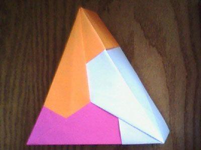 Triangle Origami Box Origami Pinterest Origami Box
