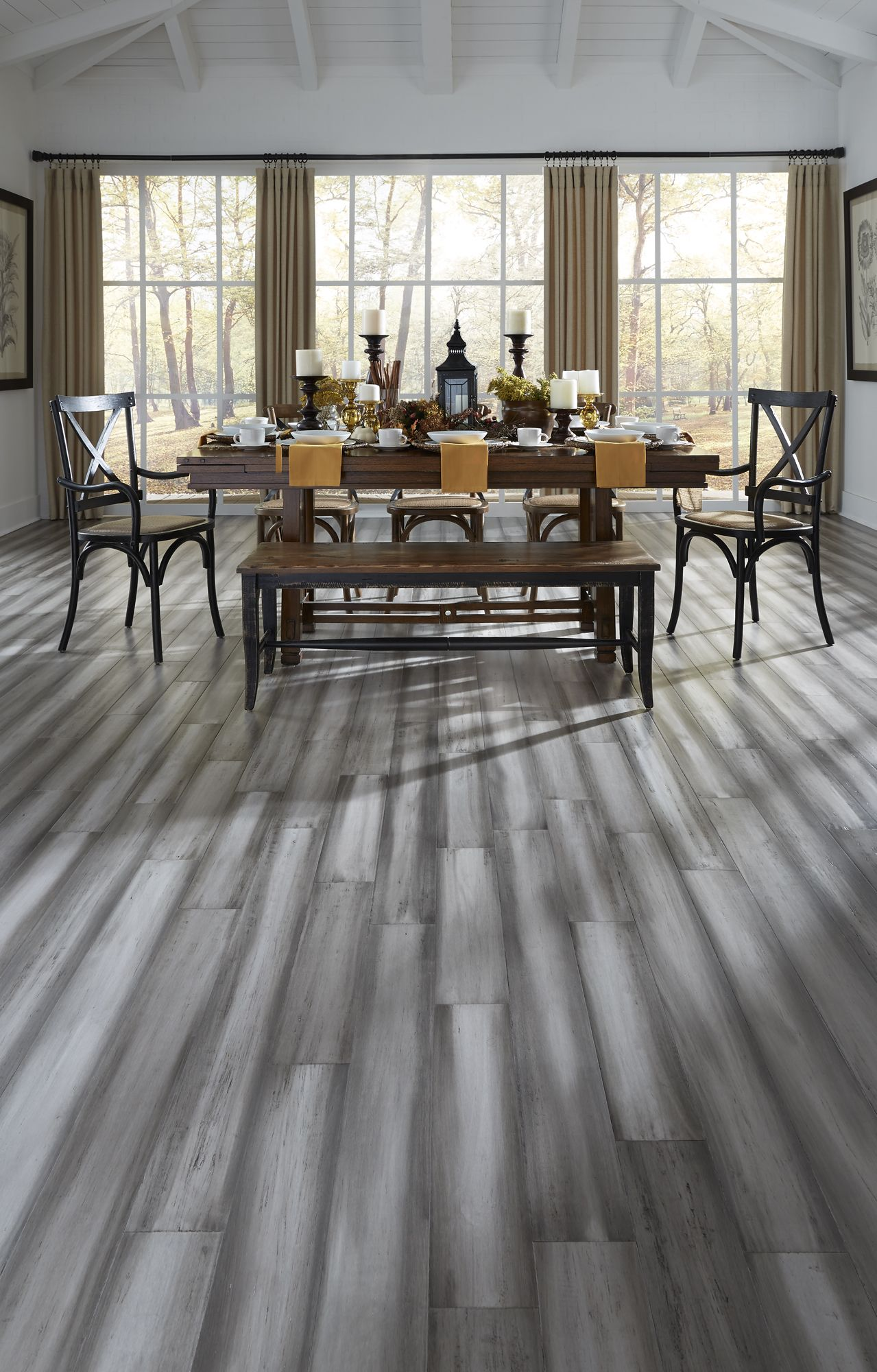 Modern Design And Rustic Texture Pair Perfectly With The Stately