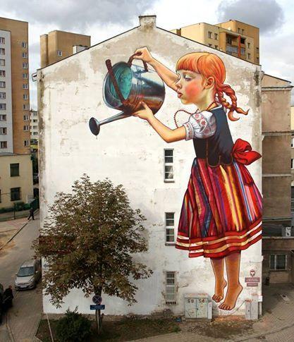Façades de maison insolites, une déco d\u0027enfer ! Pinterest Street art - peinture de facade maison