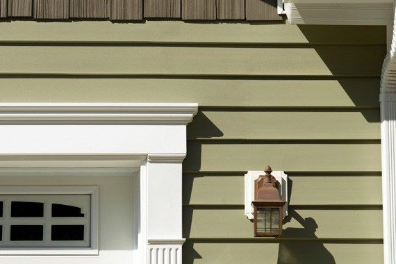 Best Siding A Guide To The Options Green Siding Siding 640 x 480