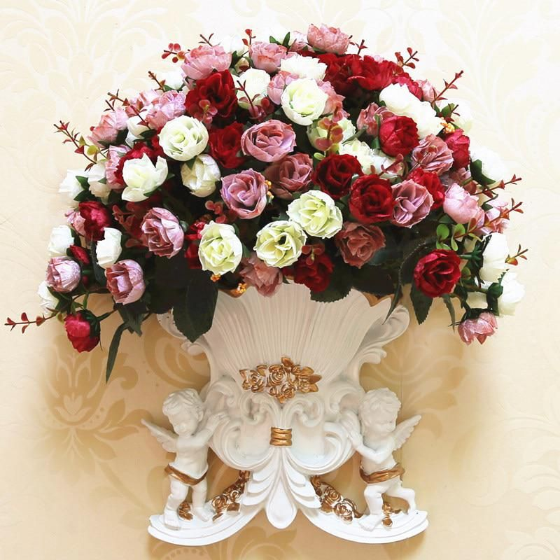 European Wall Hanging Angel Ornament Vase Flower Pot Yesterday S Price Us 26 99 23 93 Eur Today S Price Hanging Flower Baskets Flower Vases Flower Pots