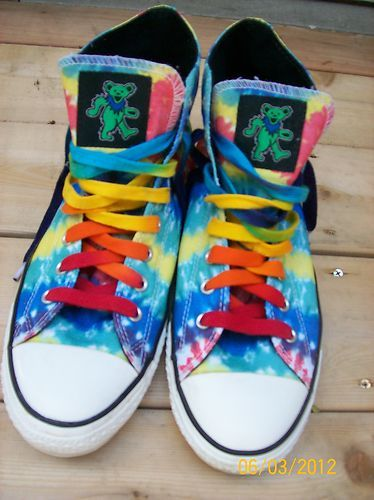 Grateful Dead CONVERSE ALL STAR shoes Chuck Taylor