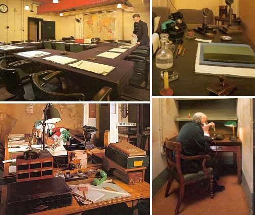 war cabinet rooms churchill museum - | I see London, I see France ...
