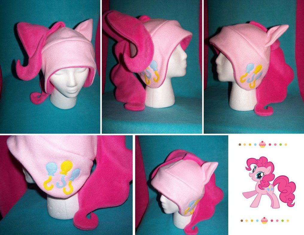 Pinkie Pie Hat ....  My daughter will flip if I made this for her! So cute!