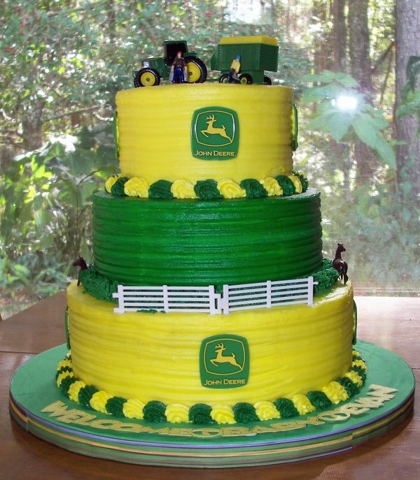 John Deere Birthday cake crafts i will do Pinterest