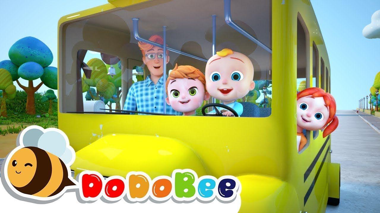 Wheels On The Bus Cocomelon Littleangel Babyshark More