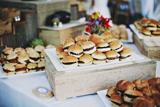 Wedding Philippines 21 Gourmet Burger Bar Buffet Ideas For Your 16