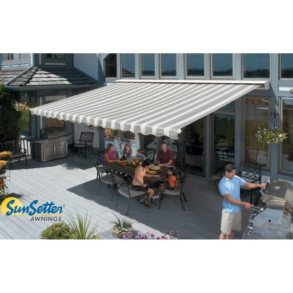 Pin By Edwin Mejia On Ideas Para Patios In 2020 Retractable Awning Retractable Pergola Fabric Awning