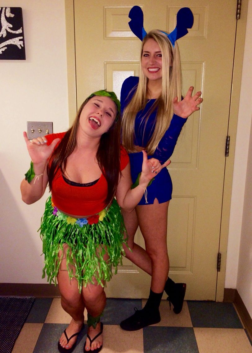 Cute Lilo And Stitch Costume Diy Sorority Disney Mixer Halloween