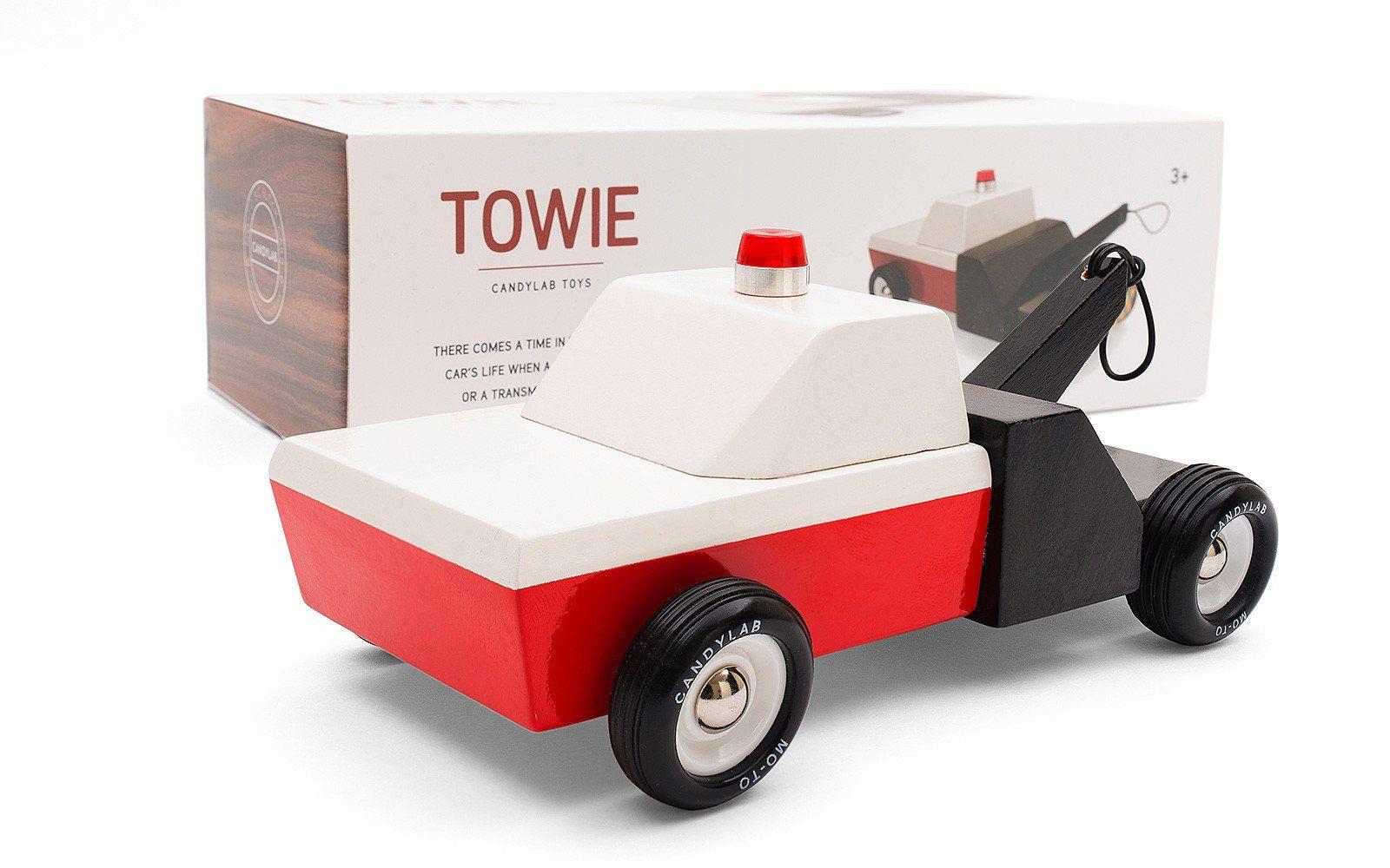 Towie Toys, Wooden, Toy garage