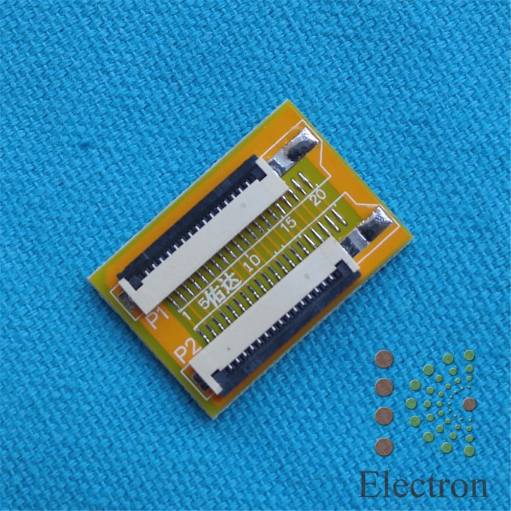 15 Pin To Zif 10mm Pitch Ffc Cable Extension Connector Electronics Using Ic Ne555cd4017 Electronic Projects Circuits Adapter 2pcs Lot