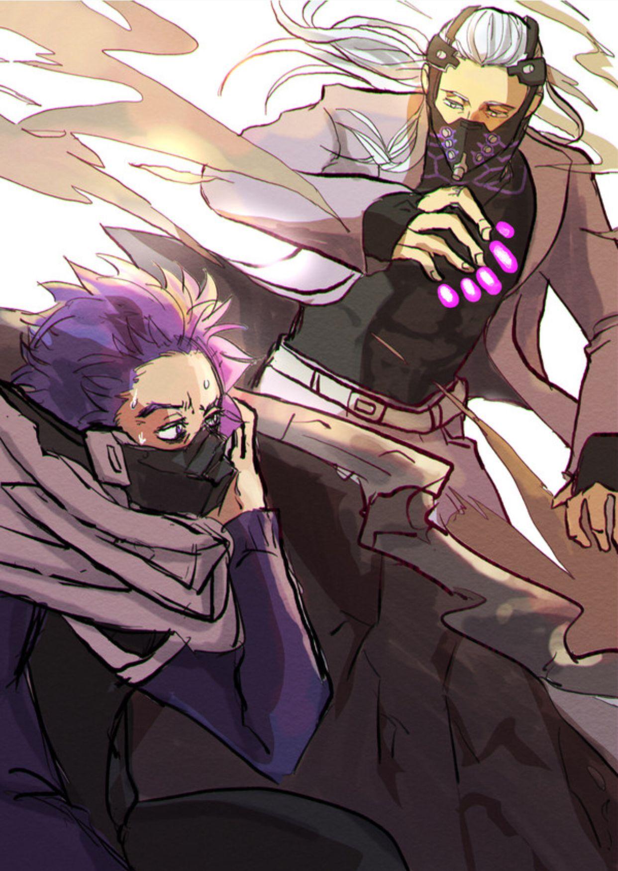 Shinsou Vs Nine My Hero Academia Manga Hero Academia Characters Hero