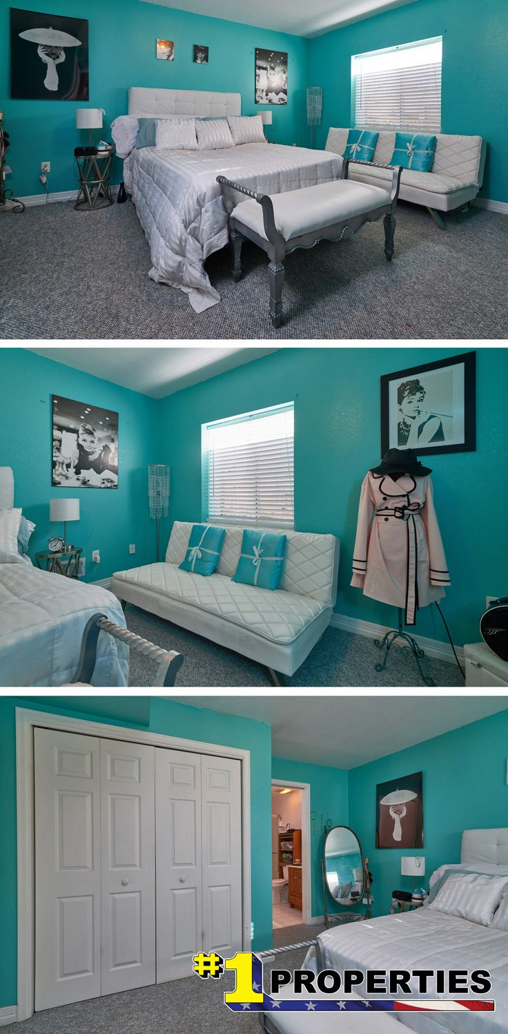Audrey Hepburn Breakfast At Tiffany S Inspired Bedroom Design Tiffanyblue