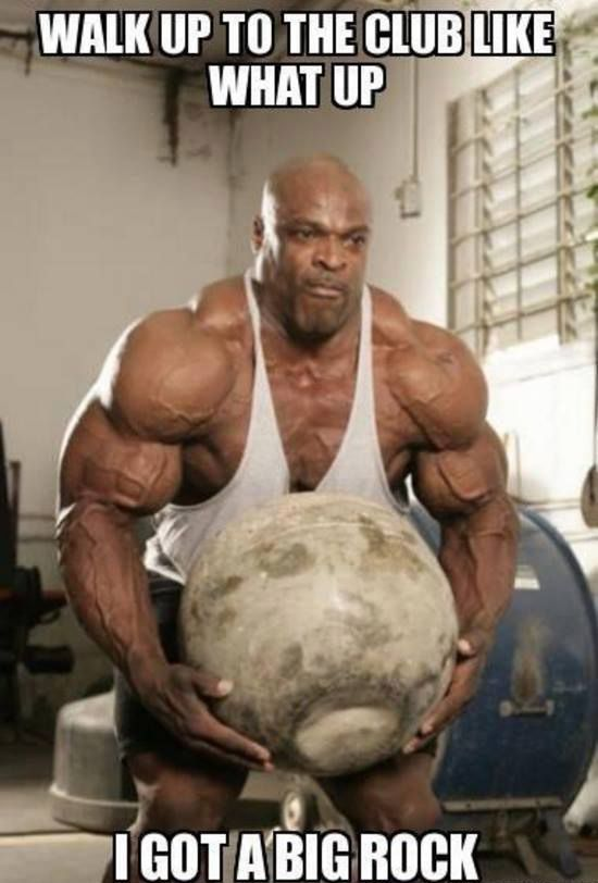 I Got A Big Rock (With images) | Workout humor