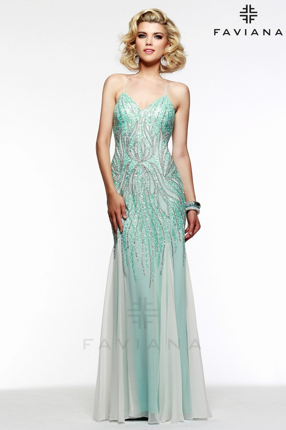 Unique Prom Dress with Beaded Details | Faviana - Prom Dresses ...