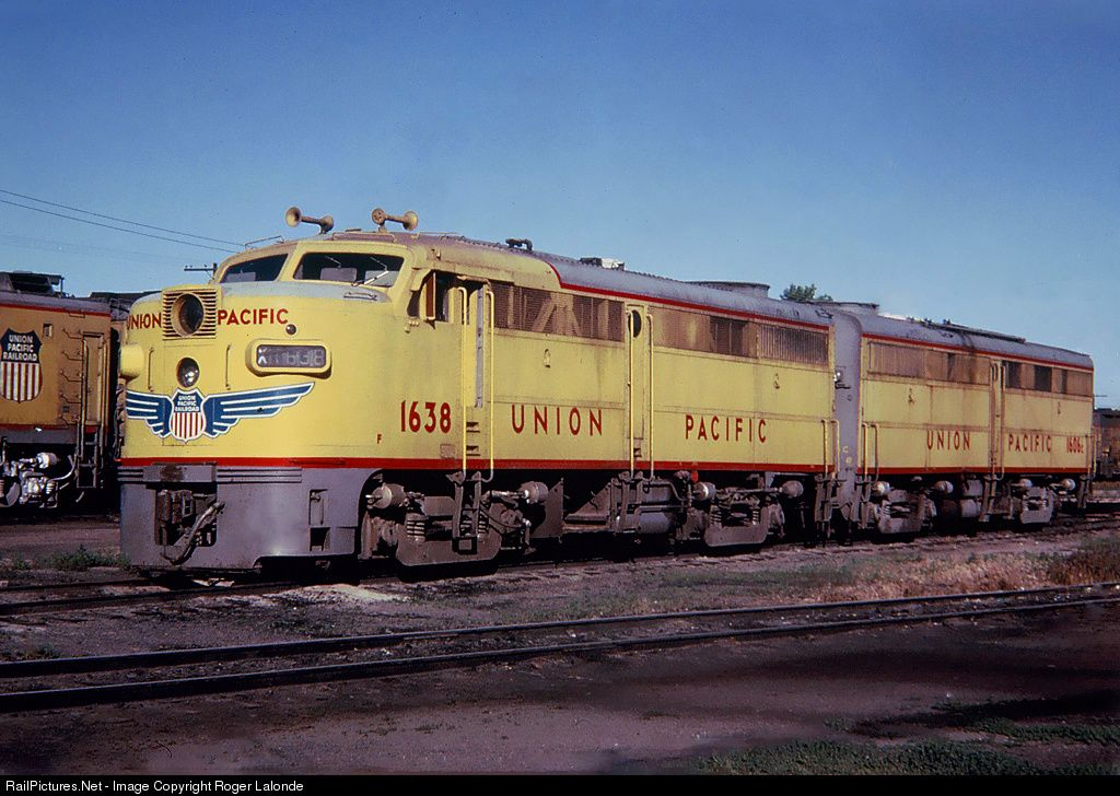 Railpicturesnet Photo Up 1638 Union Pacific Alco Fa 1 At Cheyenne