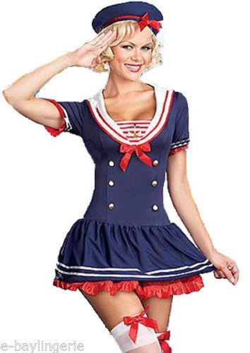 439aa3d9a40dc Details about Ladies Sexy Sailor Girl Sassy Fancy Dress Costume ...