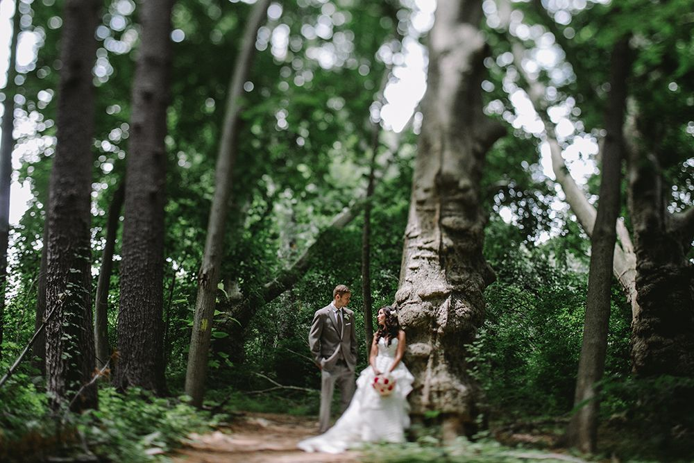Ridley Creek State Park wedding in Media, Pennsylvania