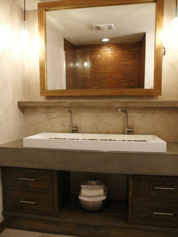Featured In Bath Crashers Episode From Bedroom To Bathroom Bathroom Sink Design Diy Bathroom Remodel Gorgeous Bathroom