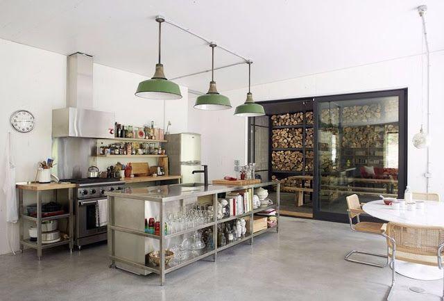 Industriele Keuken Industrial : Industriële keuken woonblog my industrial interior: hoe richt ik