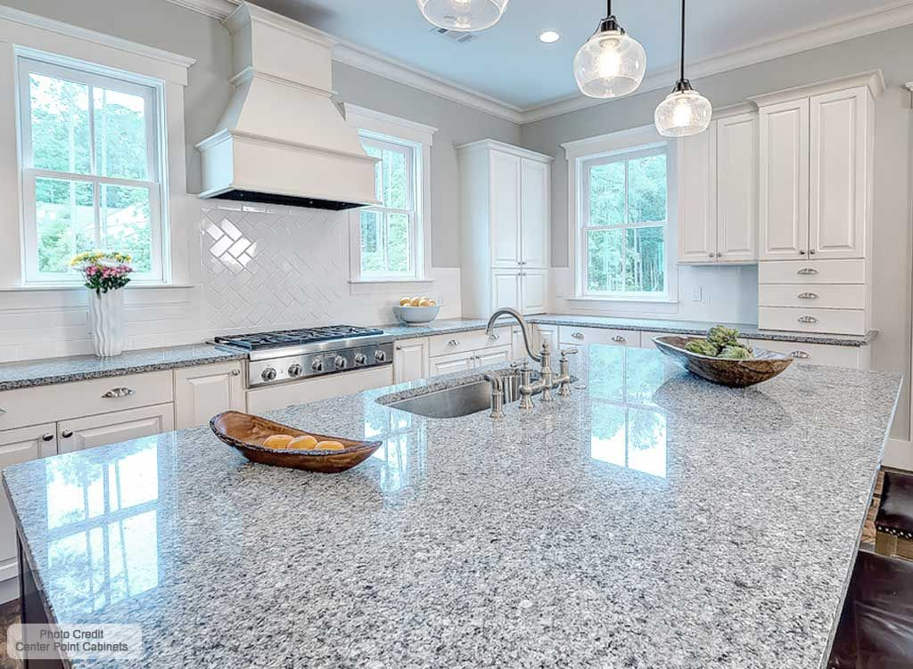 Azul Platino Granite Countertops In