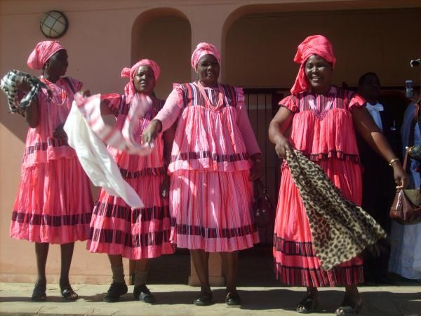 Namibia Traditional Wedding Dresses