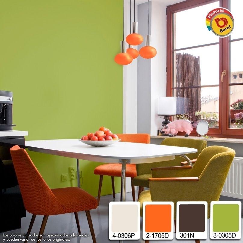 Los colores luminosos, no solo el blanco, agrandan los espacios ...