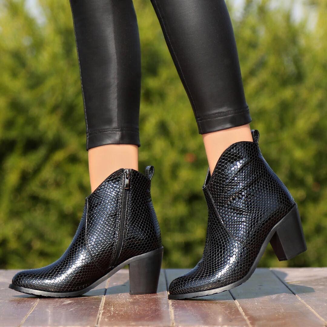 5 475 Begenme 23 Yorum Instagram 39 Da Ayakkabi Delisiyim Ayakkabidelisiyim Quot Urun Adi Estefon Yilan Siyah Fiyati 1 Shoes Boots Ankle Boot