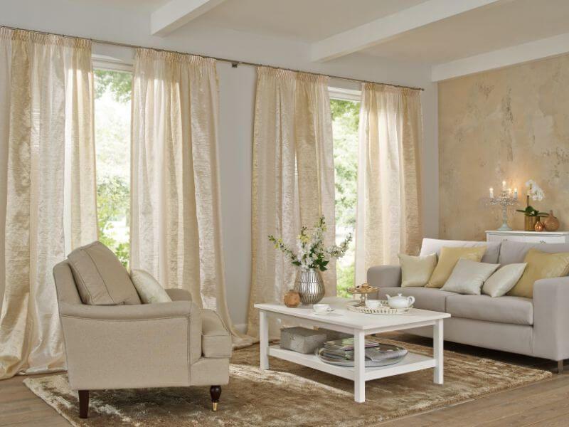 wohnzimmer gardine in beige ❤ Vielfältige Plissees ❤ Bezaubernde ...