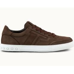 Tod's – Sneakers aus Nubukleder, Braun, 9.5 – Shoes Tod's