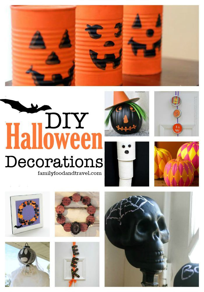 DIY Halloween Decorations are easier than ever with our great tips - fun and easy halloween decorations