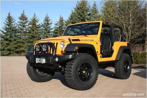 Jeep Wrangler Traildozer Concept Fue Disenado En Conjunto Con El
