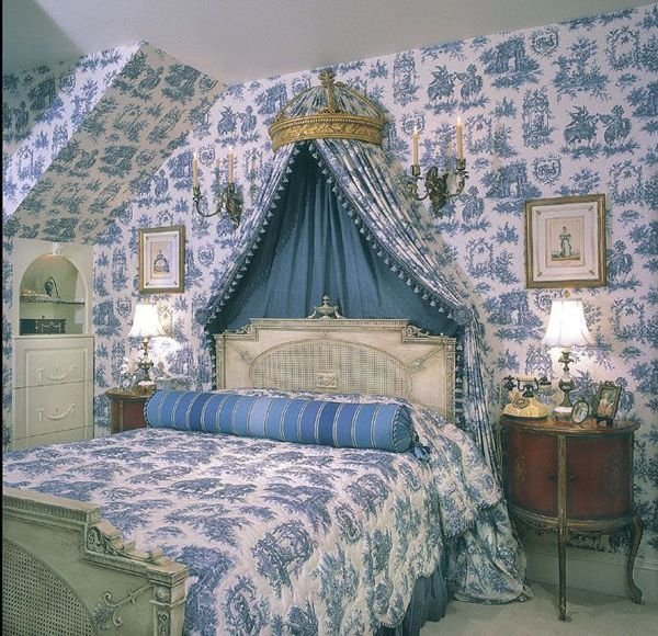 Decorating Ideas Toile Fabric: Country Bedrooms To Love