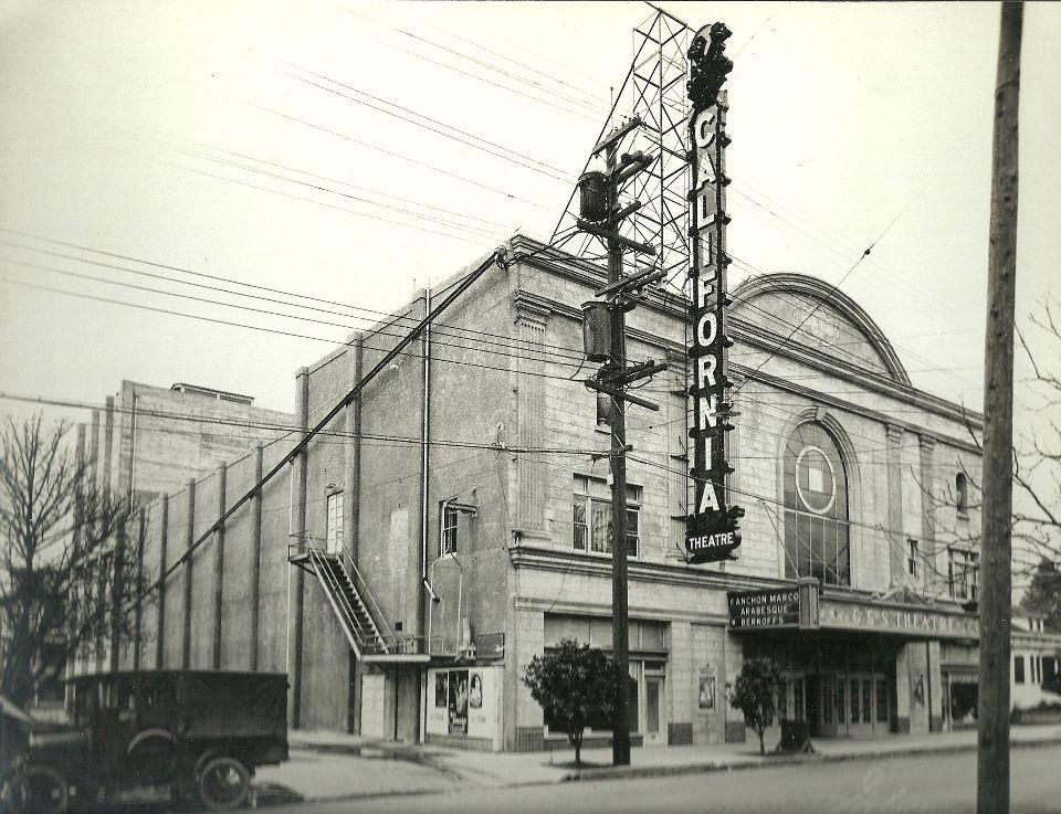 old santa rosa ca california movie theater santa rosa