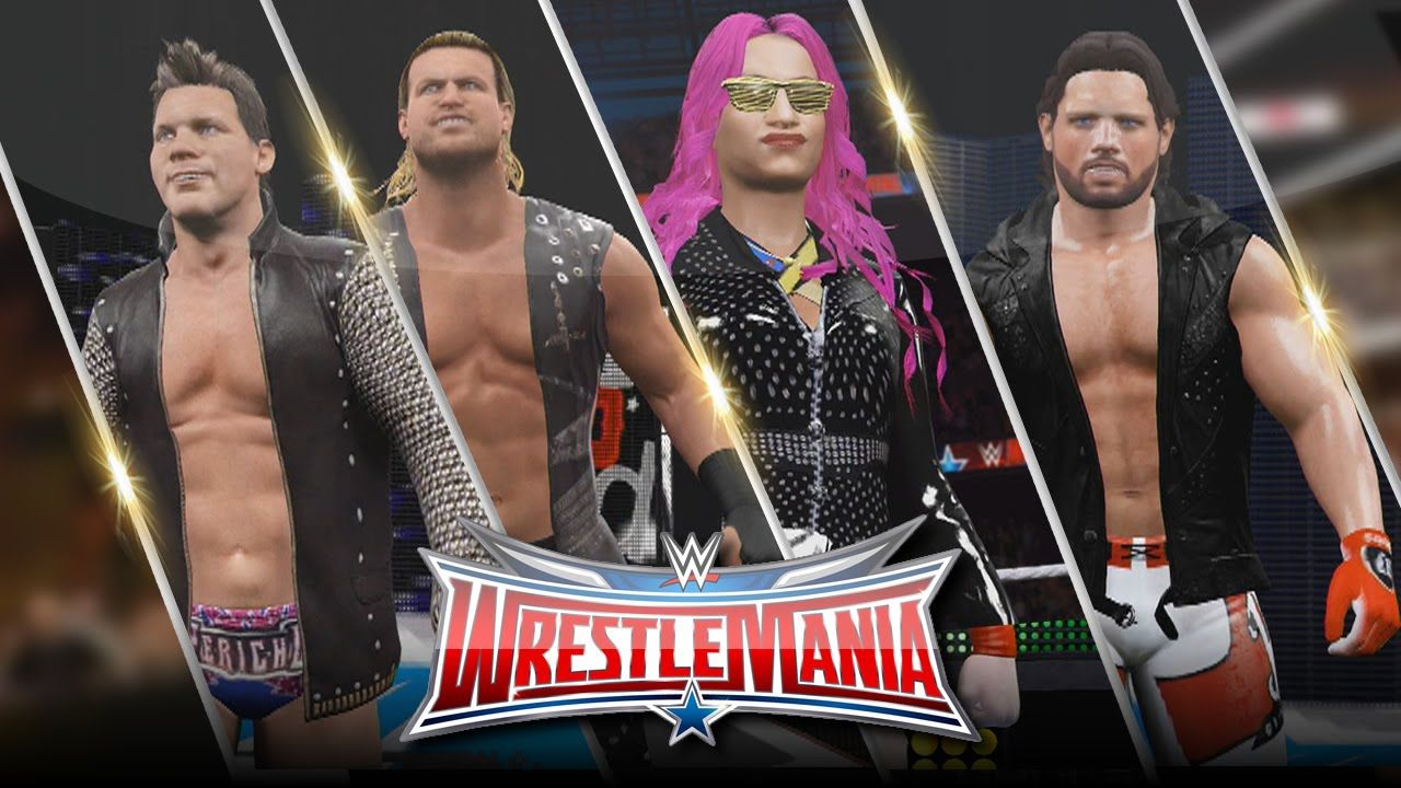 652279e341 WWE 2K16 Wrestlemania 32 Attire Bundle (AJ Styles