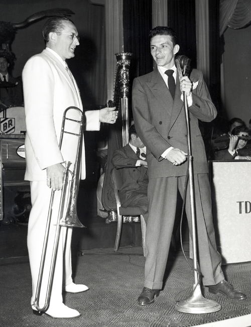 Image result for frank sinatra and tommy dorsey