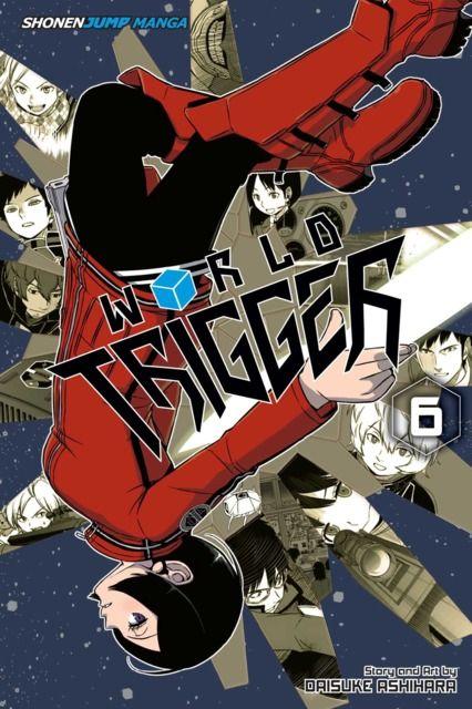 World Trigger #6 cover by Daisuke Ashihara
