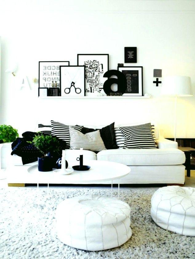 Home Decoration Designs Erstellen Sie ein Schwarz-Weiß-Wohnzimmer - wohnzimmer schwarz wei