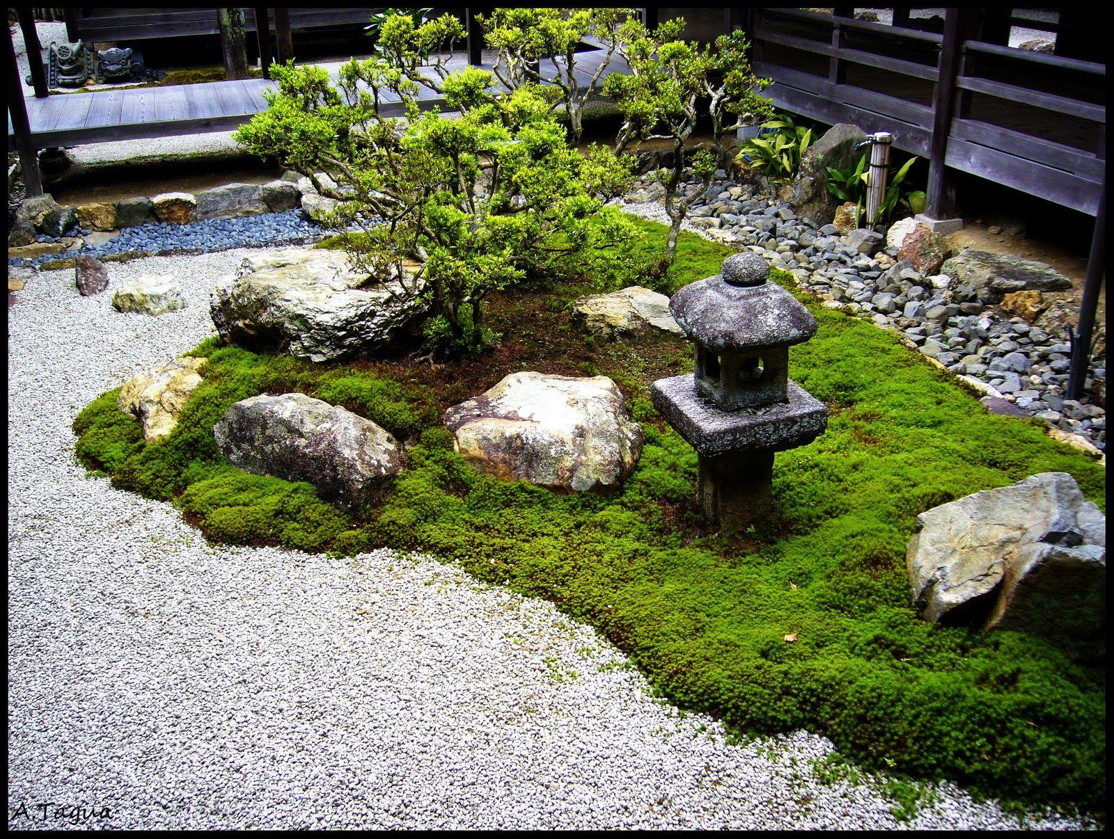 como hacer un jardin zen en una terraza - Buscar con Google | Jardin ...
