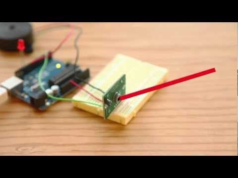 Build a Basic Infrared Motion Alarm with Weekend Projects | Arduino ...